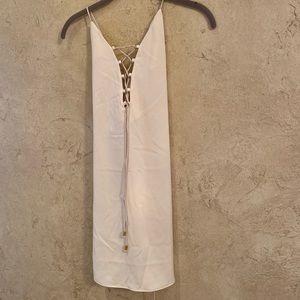 IXIAH White Silk Dress